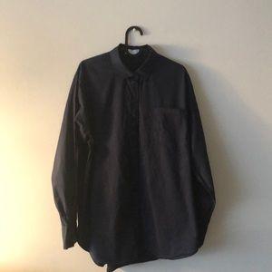 OAK+FORT dark navy dress shirt